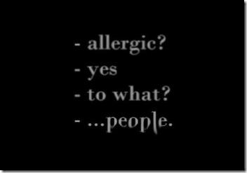 alergic