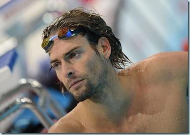 El nadador francés Camille Lacourt.